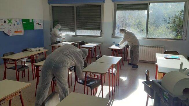 coronavirus scuola pozzuoli