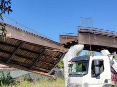 crolla ponte roma