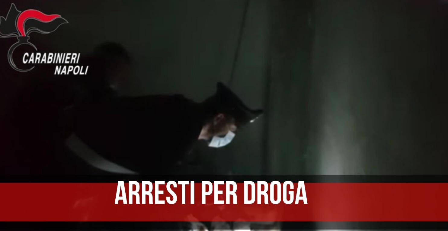 arresti droga giugliano villaricca
