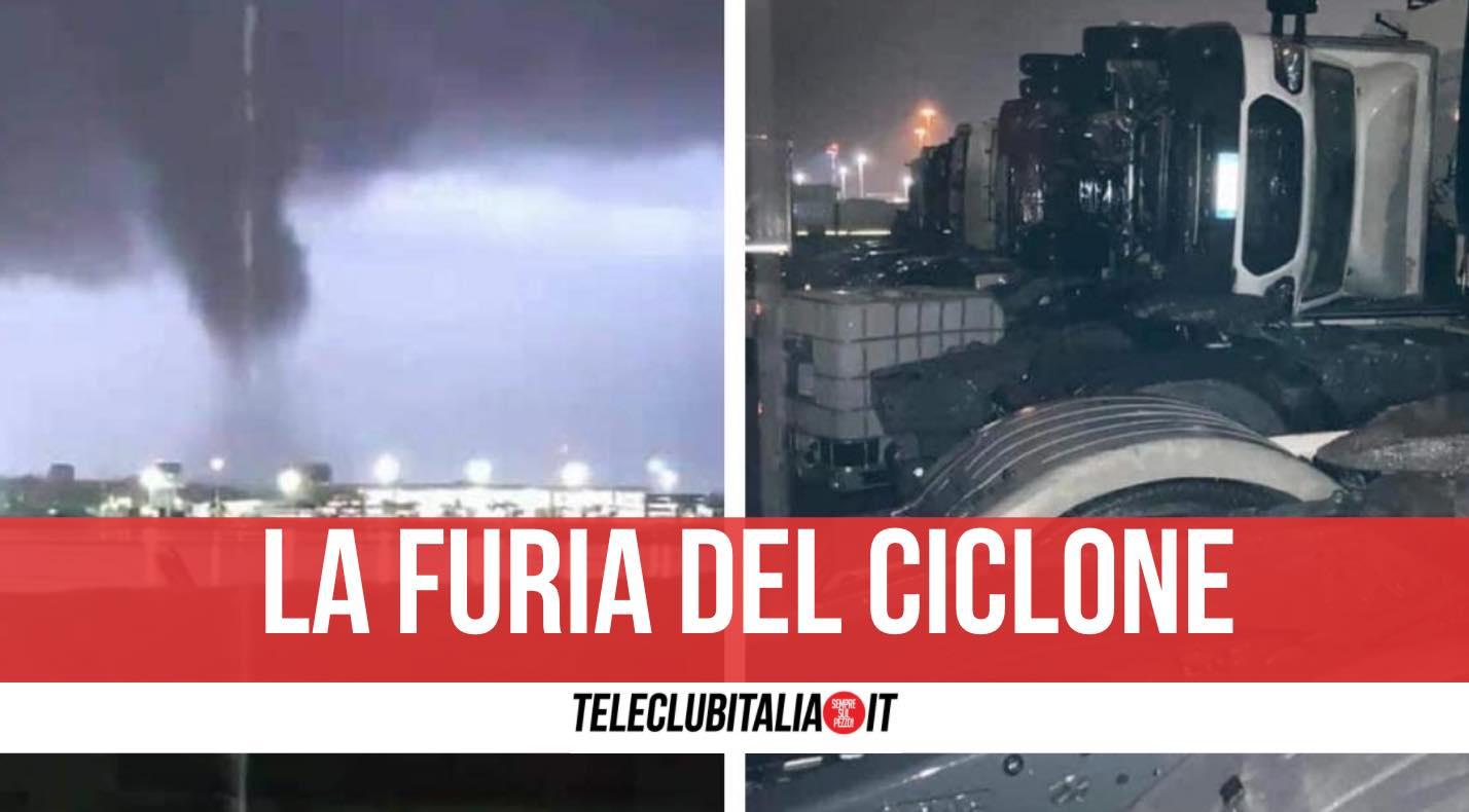 ciclone catania