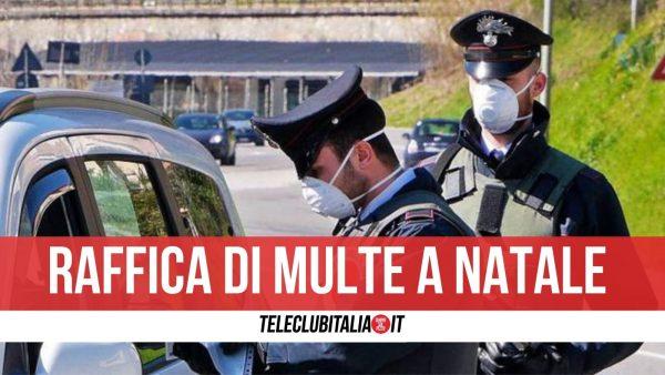 Napoli controlli multe natale