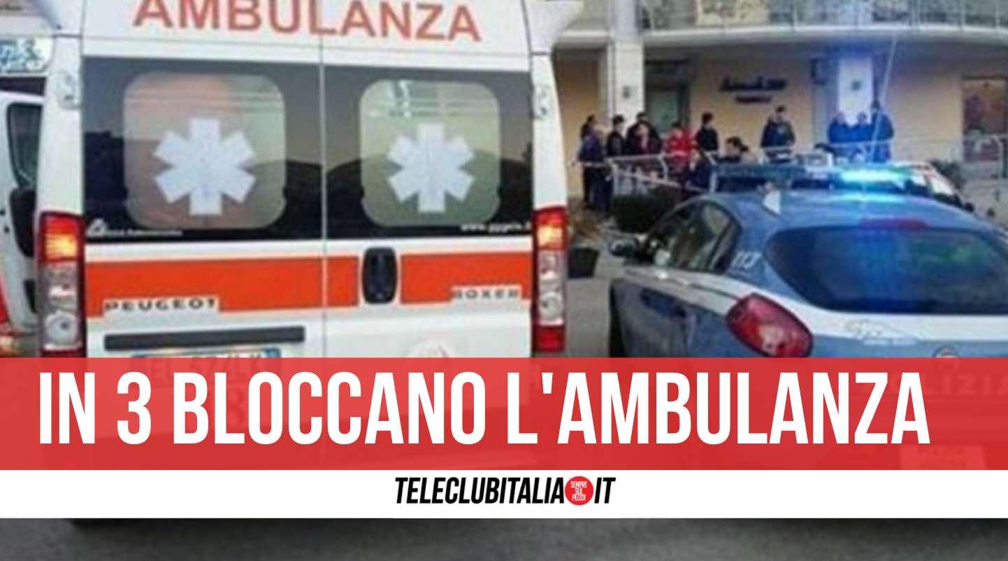 aggrediscono autista ambulanza