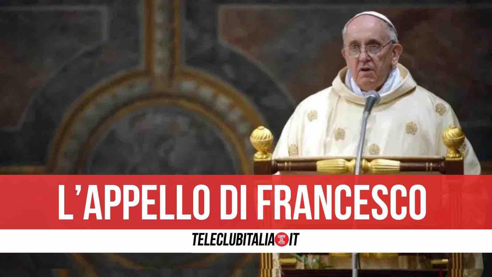 messaggio natale papa francesco