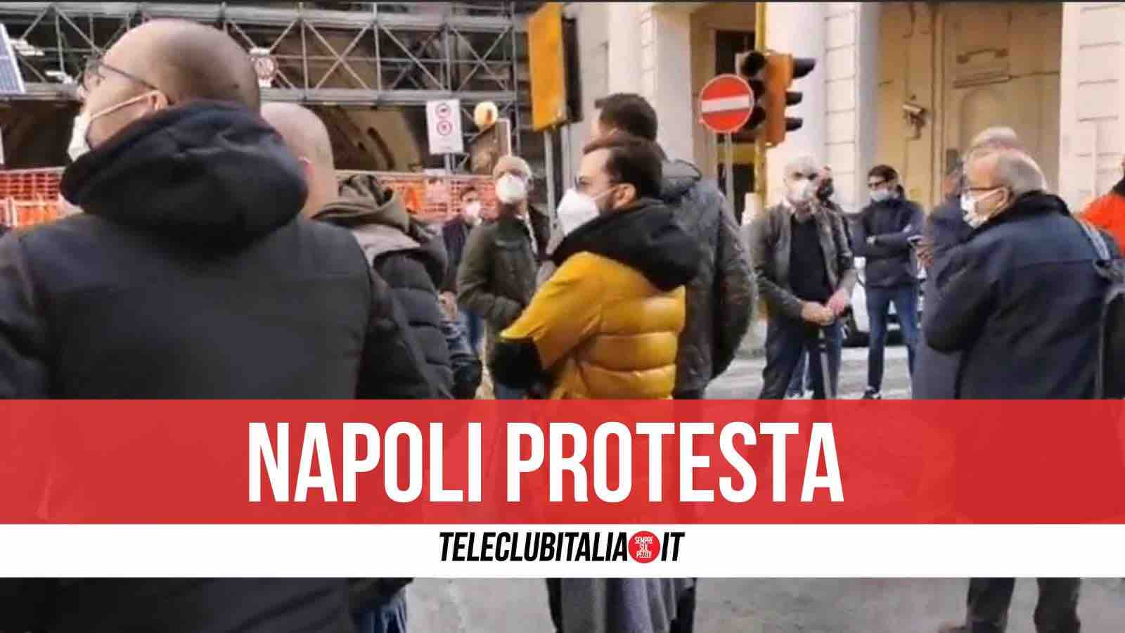 protesta napoli