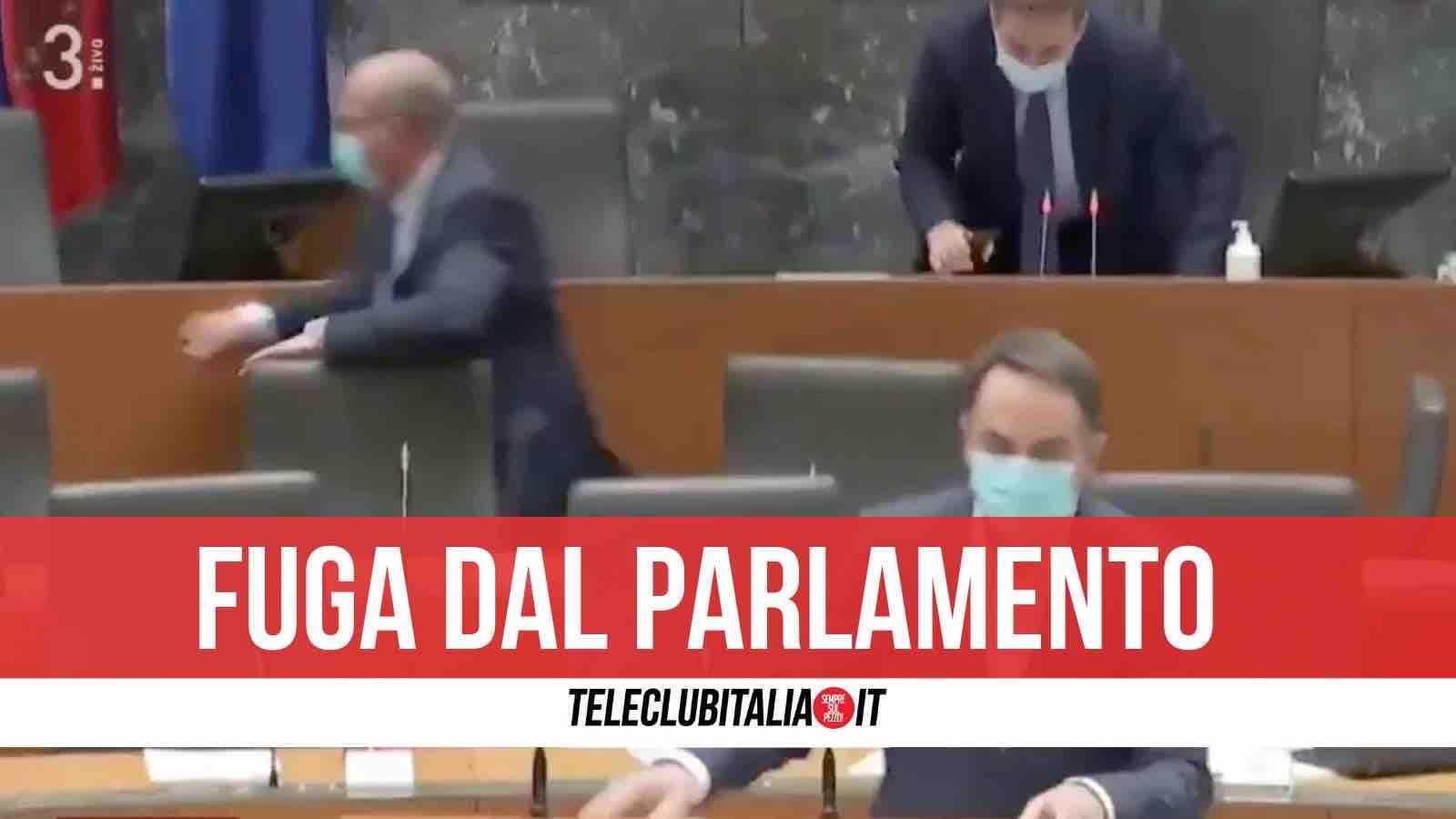 terremoto parlamento slovenia