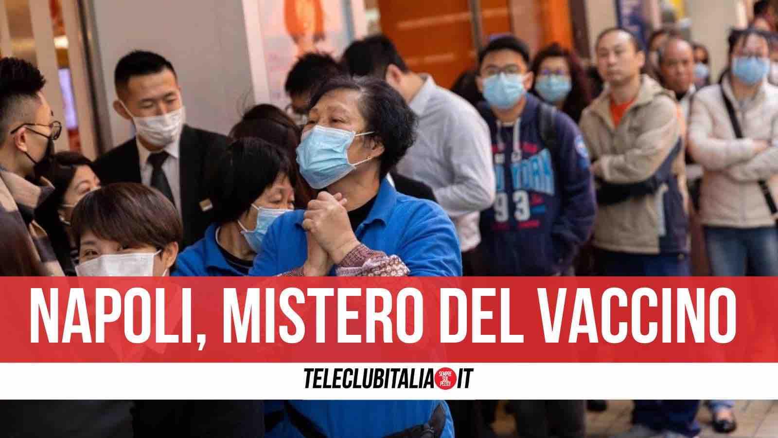 vaccino cinese napoli