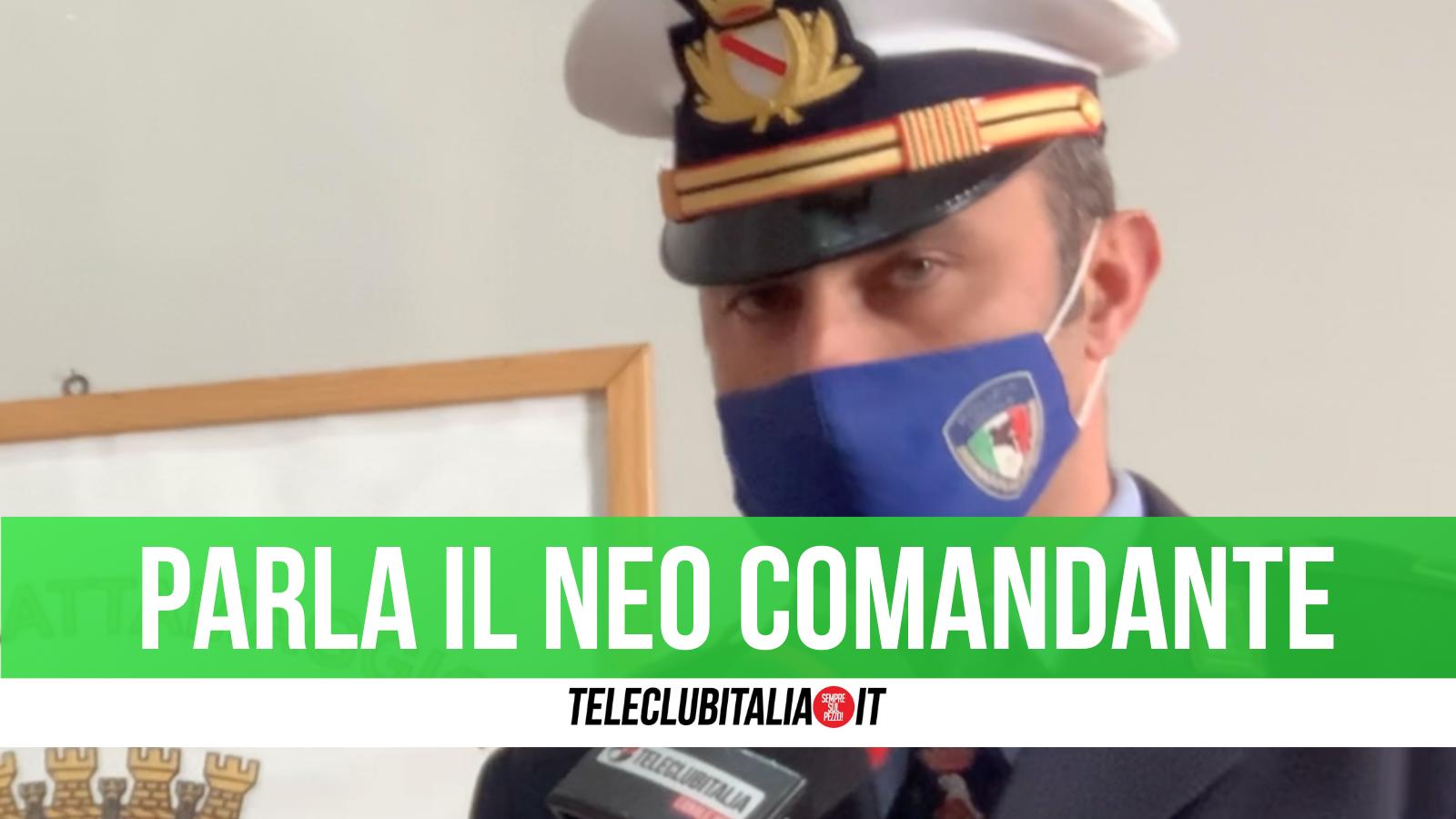 Francesco Romano comandante municipale Frattamaggiore
