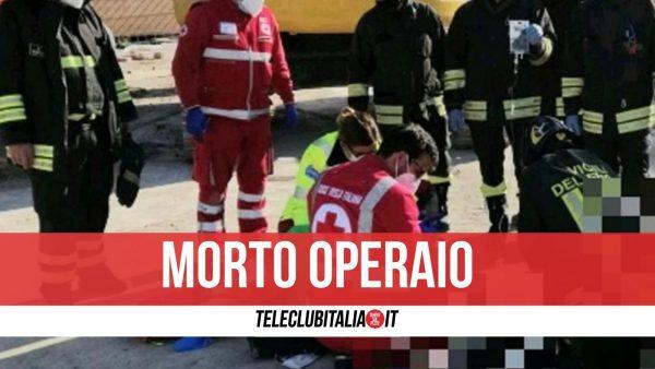 morto operaio Frattamaggiore