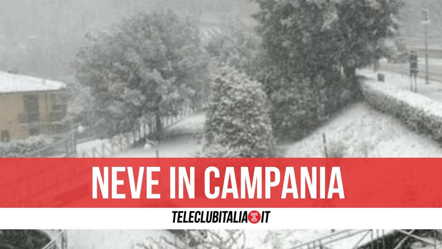 neve in campania