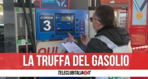 sequestrato distributore di benzina
