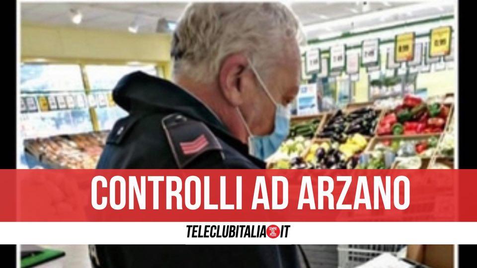 arzano controlli anticovid
