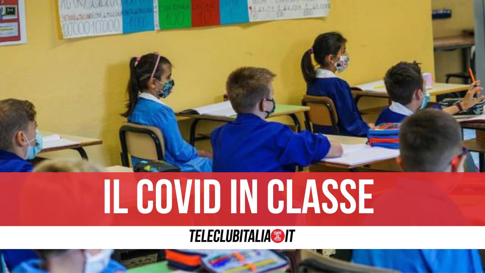 covid scuola siani villaricca classe quarantena