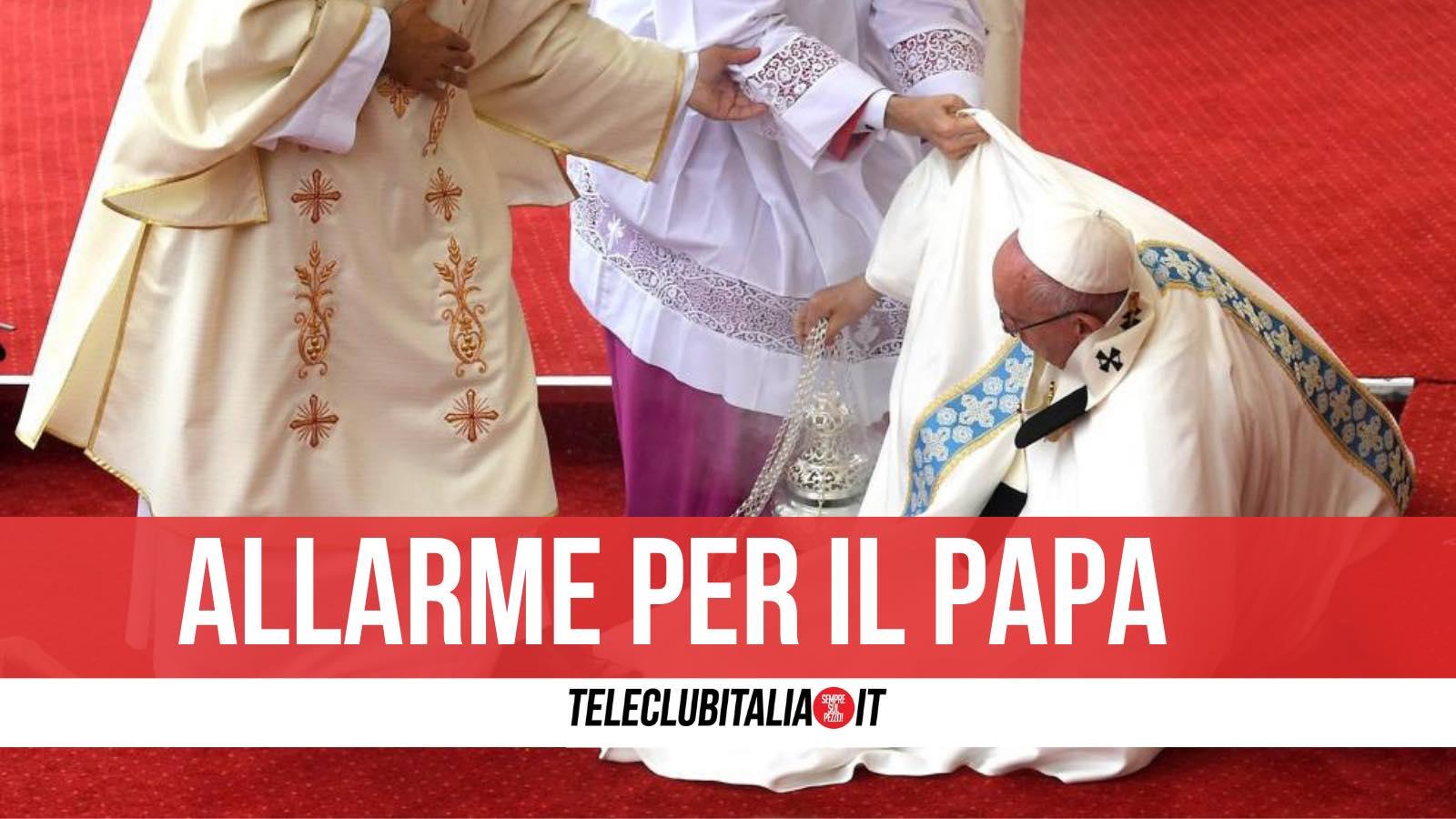 dimissioni papa 2021