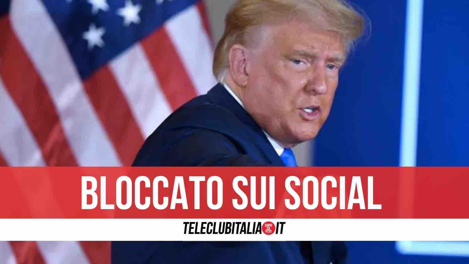 Le musa mancanti : Nera , rosa … trasparente : Cronache multicolori >  Trump-facebook-instagram
