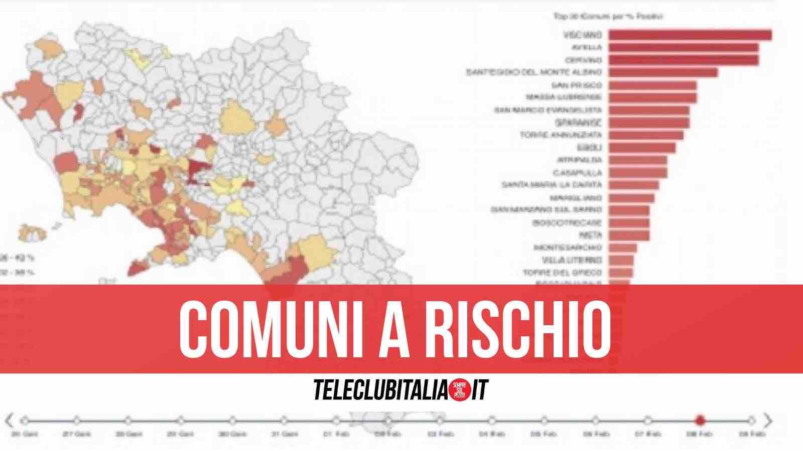 145 comuni campania