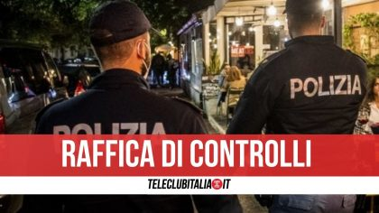 Controlli a Napoli e a Casoria, chiusi 2 locali: sorpresi clienti senza mascherina o a mangiare