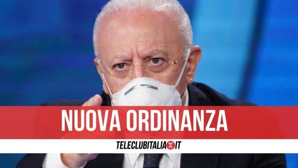 campania ordinanza De Luca