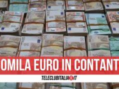 soldi nascosti in casa