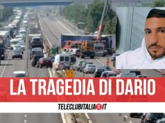 incidente autostrada morto dario Dario Cecoro