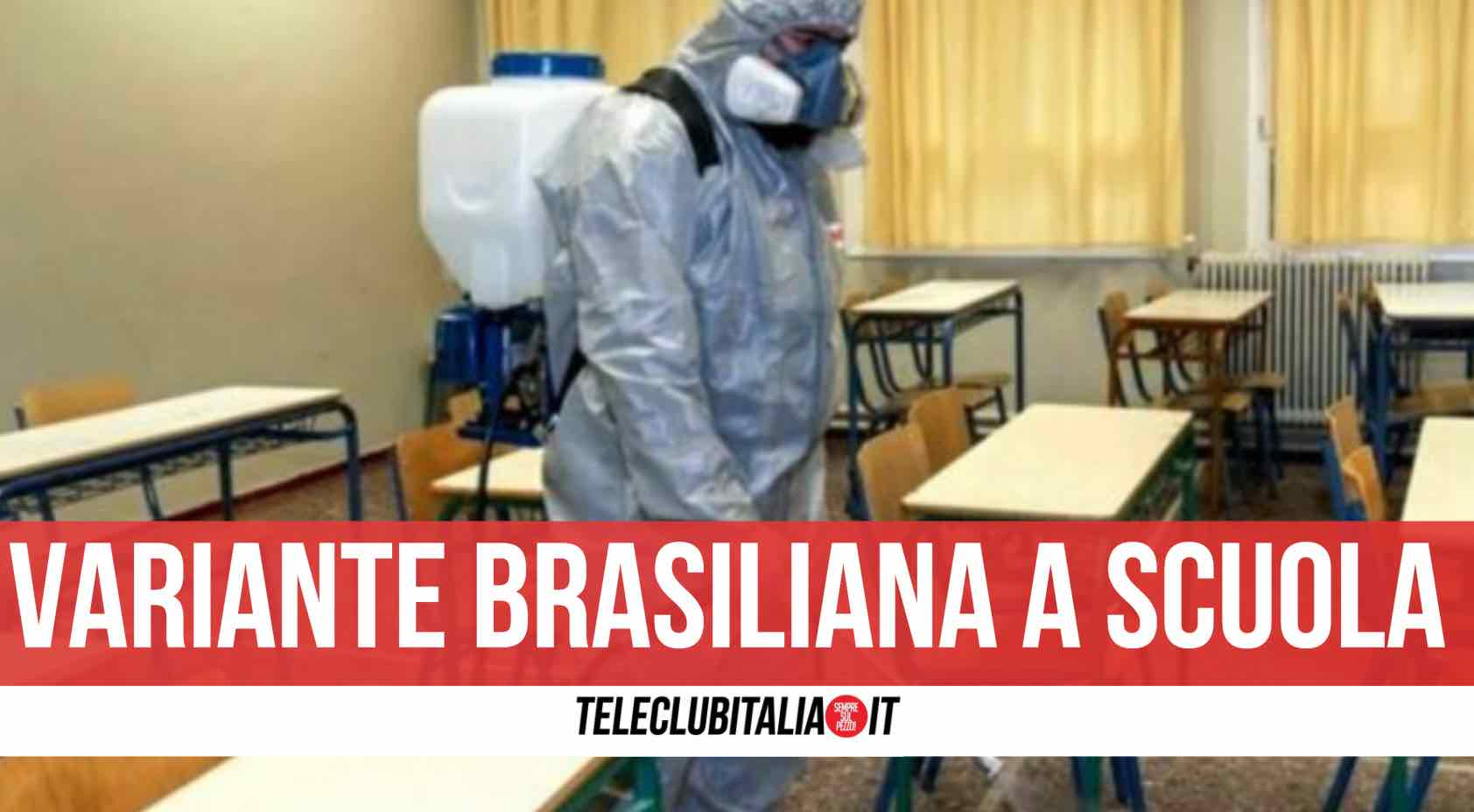 variante brasiliana scuola roma
