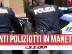 giugliano rapina finti poliziotti