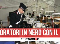 sant'antimo lavoro nero carabinieri