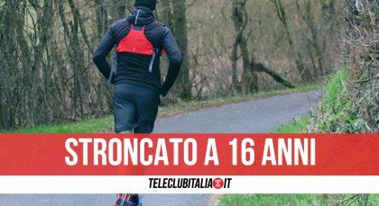 16enne Muore Mentre Corre al Parco |  Addio a Riccardo Pica