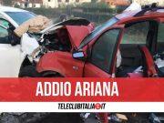 ariana morta silvi marina incidente