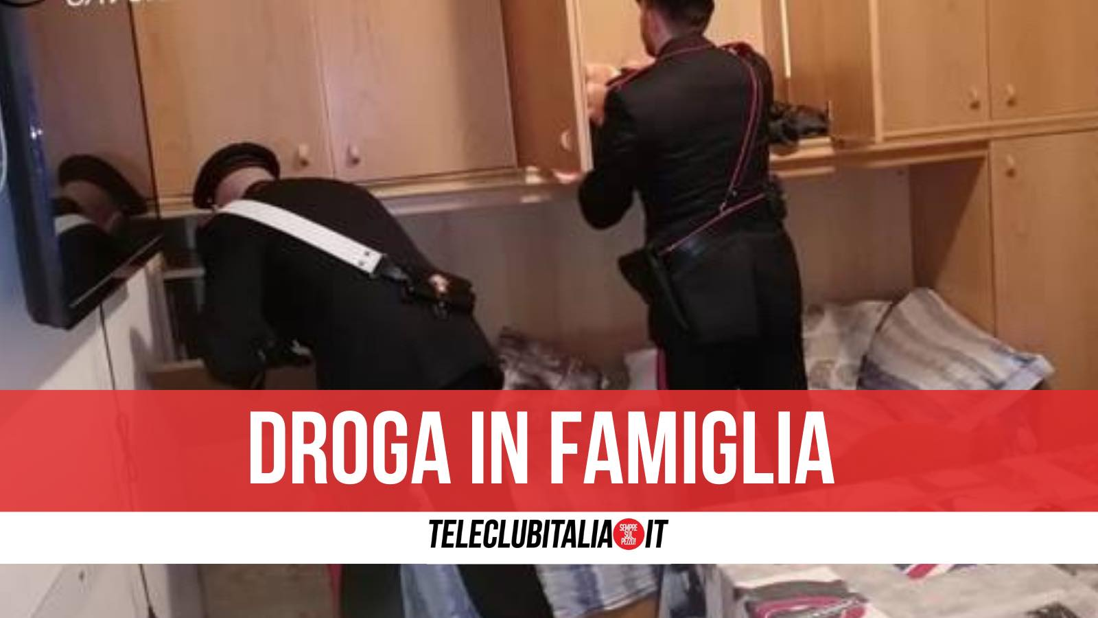 arrestati licola pozzuoli droga in casa
