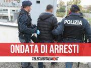 arresti 45 salerno 9 febbraio