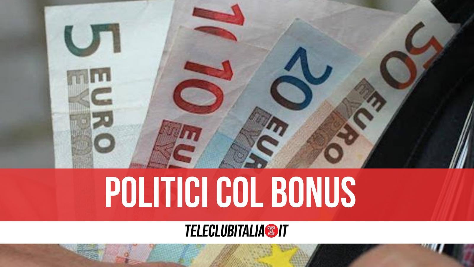 bonus 600 euro furbetti politici