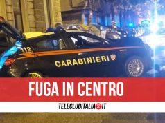 carabinieri fuga contromano marano
