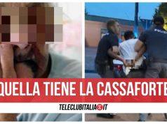 castellammare rapina sequestro anziana in casa nipote