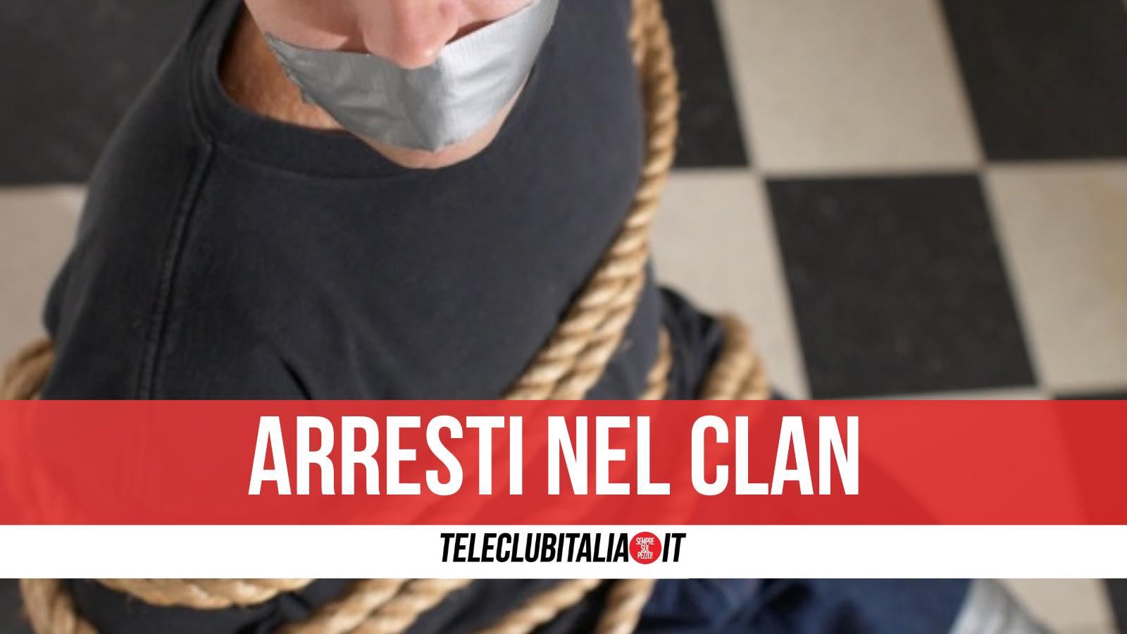 clan casalesi arresti sequestro persona