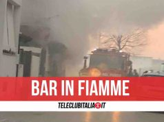 incendio bar parete