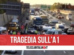incidente a1 morto afragola acerra 17 febbraio