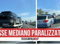 incidente asse mediano