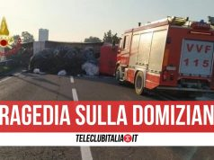 incidente domiziana mondragone morta donna