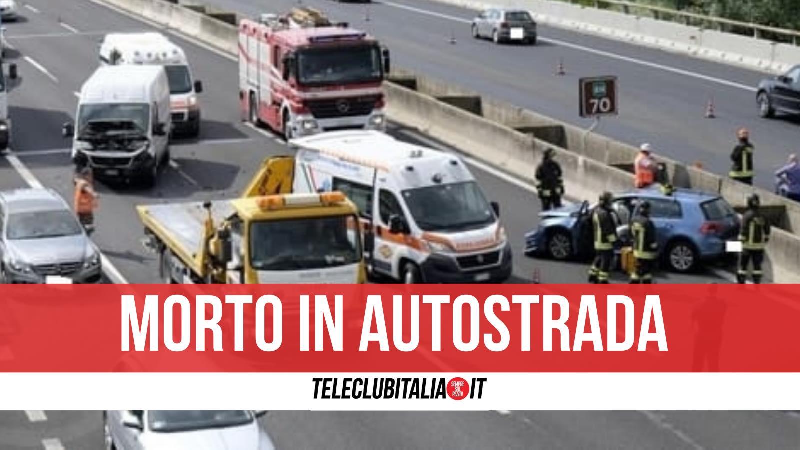 incidente napoli salerno morto 21 febbraio