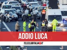 luca buonocore incidente morto a3