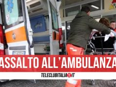 morto angri infarto assalto ambulanza