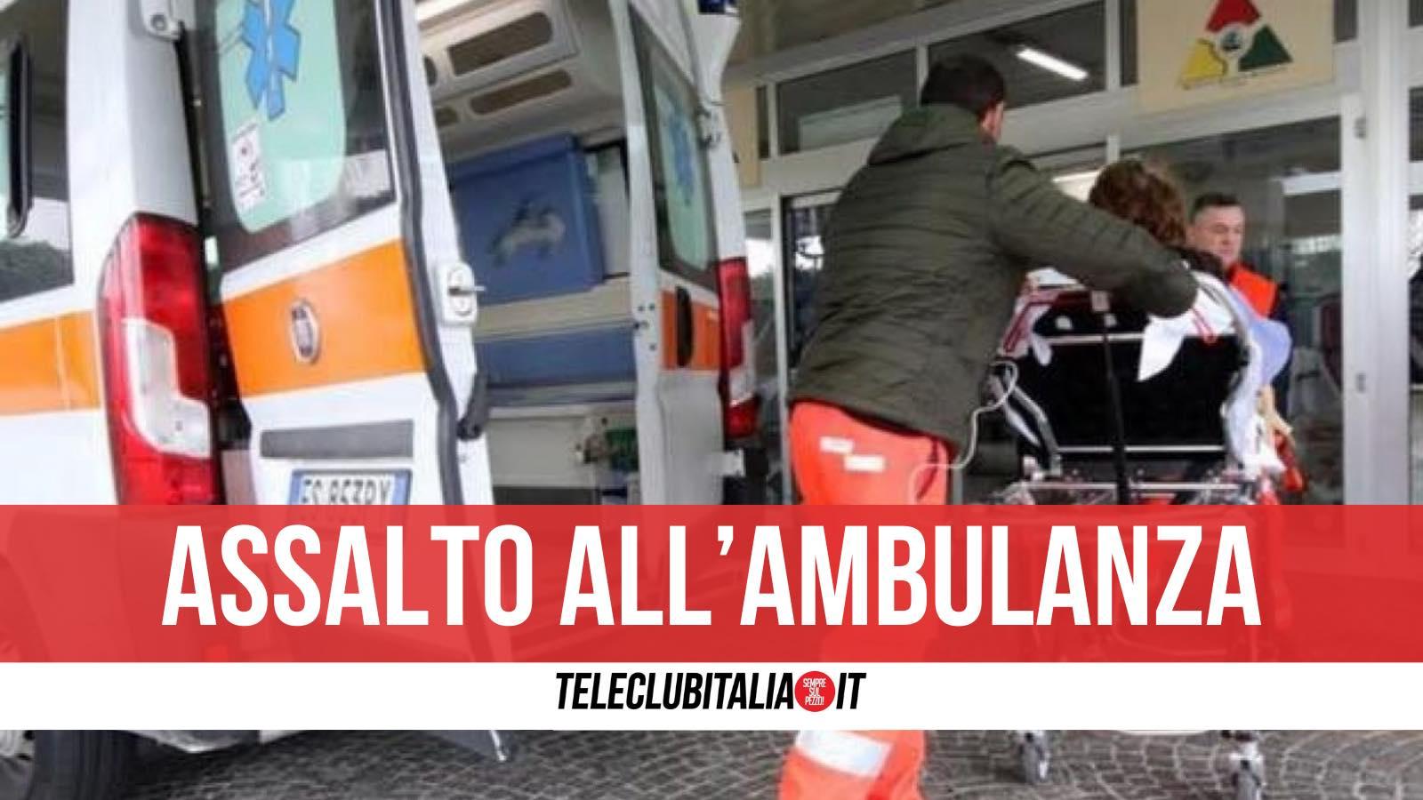 morto angri infarto assalto ambulanza