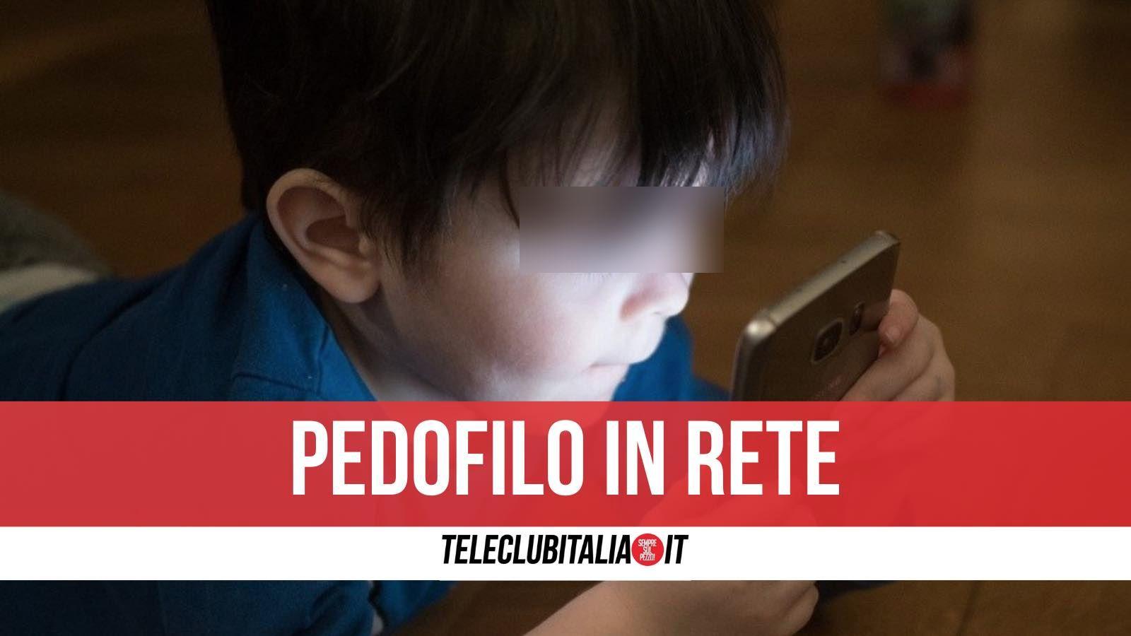 pedofilo in rete castel volturno arrestato