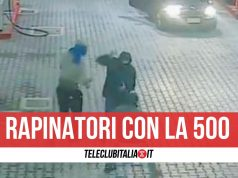 rapinatori distributori benzina giugliano villaricca arrestati