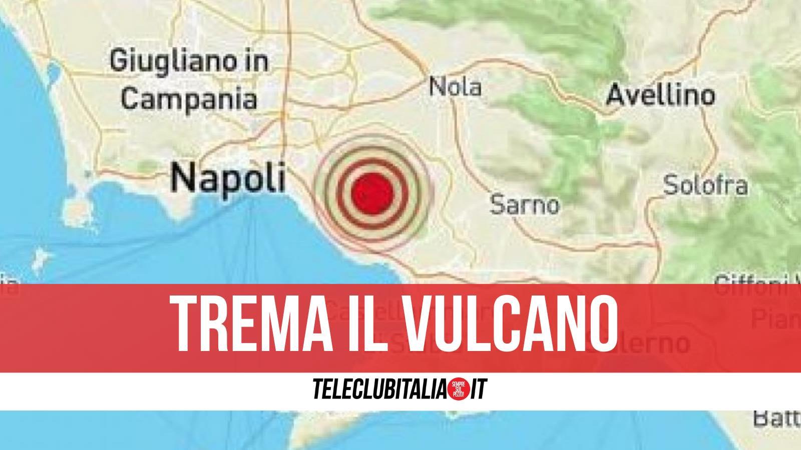 terremoto vesuvio 22 febbraio