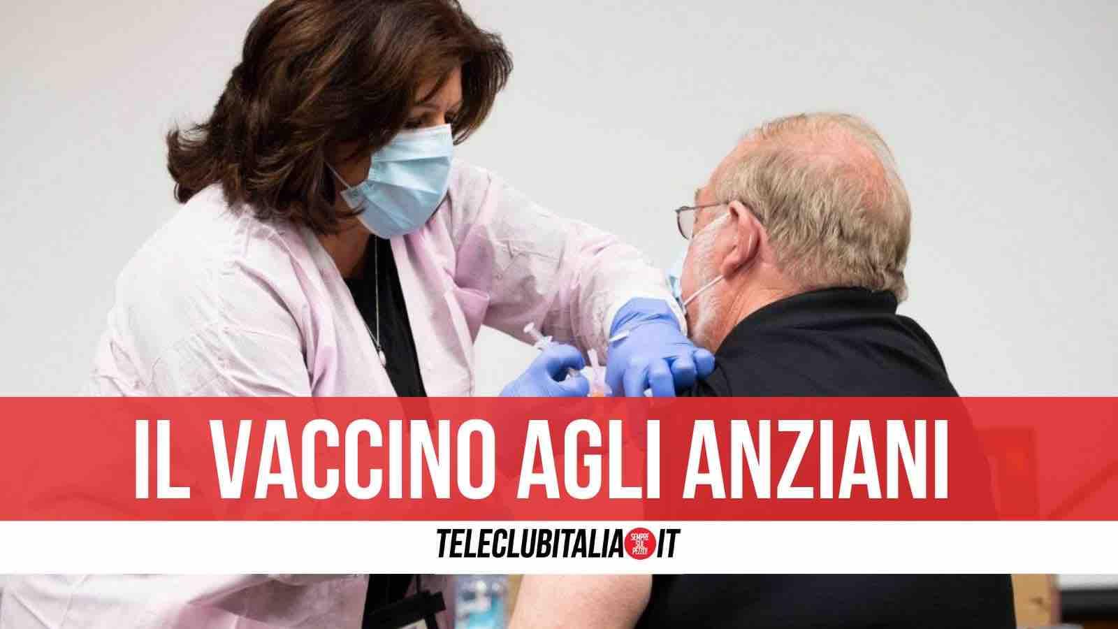 vaccino 80 anni campania