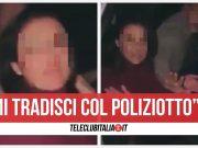 video cava de tirreni poliziotto bidet