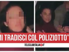 video cava de tirreni poliziotto bidet