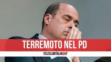 """Zingaretti si dimette da segretario del Pd: """"Mi vergogno che si parli solo di poltrone"""""""