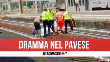 Tragedia nel Pavese, 27enne investito e ucciso da un treno